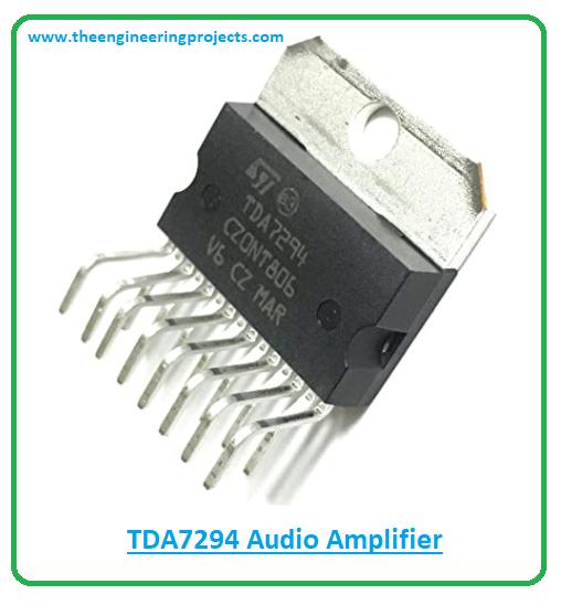 Introduction to tda7294, tda7294 pinout, tda7294 features, tda7294 applications