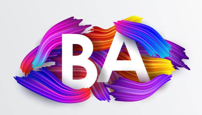 Bachelor of Arts, BA, Fine arts, BA programs