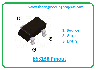 Introduction to bss138, bss138 pinout, bss138 features, bss138 applications