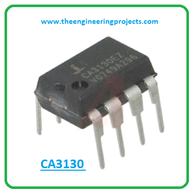 Introduction to ca3130, ca3130 pinout, ca3130 features, ca3130 applications