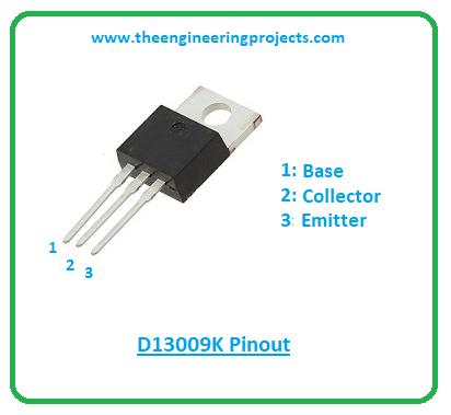 Introduction to d13009k, d13009k pinout, d13009k features, d13009k applications