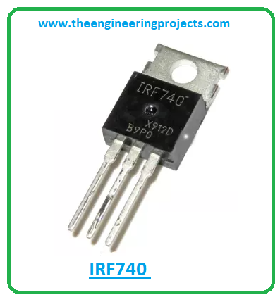 Introduction to irf740, irf740 pinout, irf740 features, irf740 applications