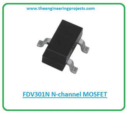 Introduction to fdv301n, fdv301n pinout, fdv301n features, fdv301n applications