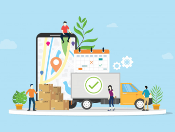 increase sales through courier service, courier service, impact of sales by courier services, tips for the courier service