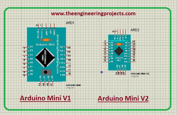 Arduino Mini Library for Proteus V2.0, Arduino Mini Proteus library