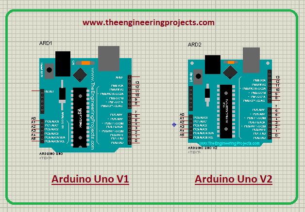 Arduino Uno Library for Proteus V2.0, Arduino Uno Proteus library