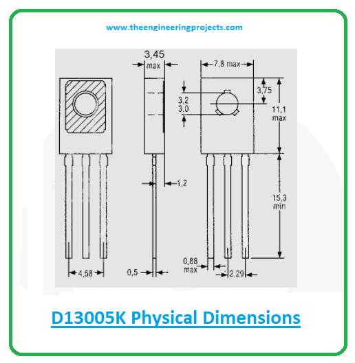 Introduction to d13005k, d13005k pinout, d13005k equivalents, d13005k power ratings, d13005k applications