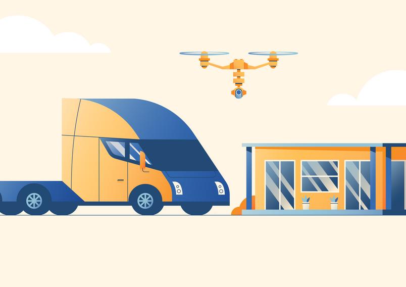 Construction Vehicles, modern technology, civil construction