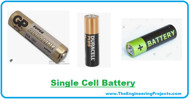 single cell battery, dry cell battery, battery, cell battery