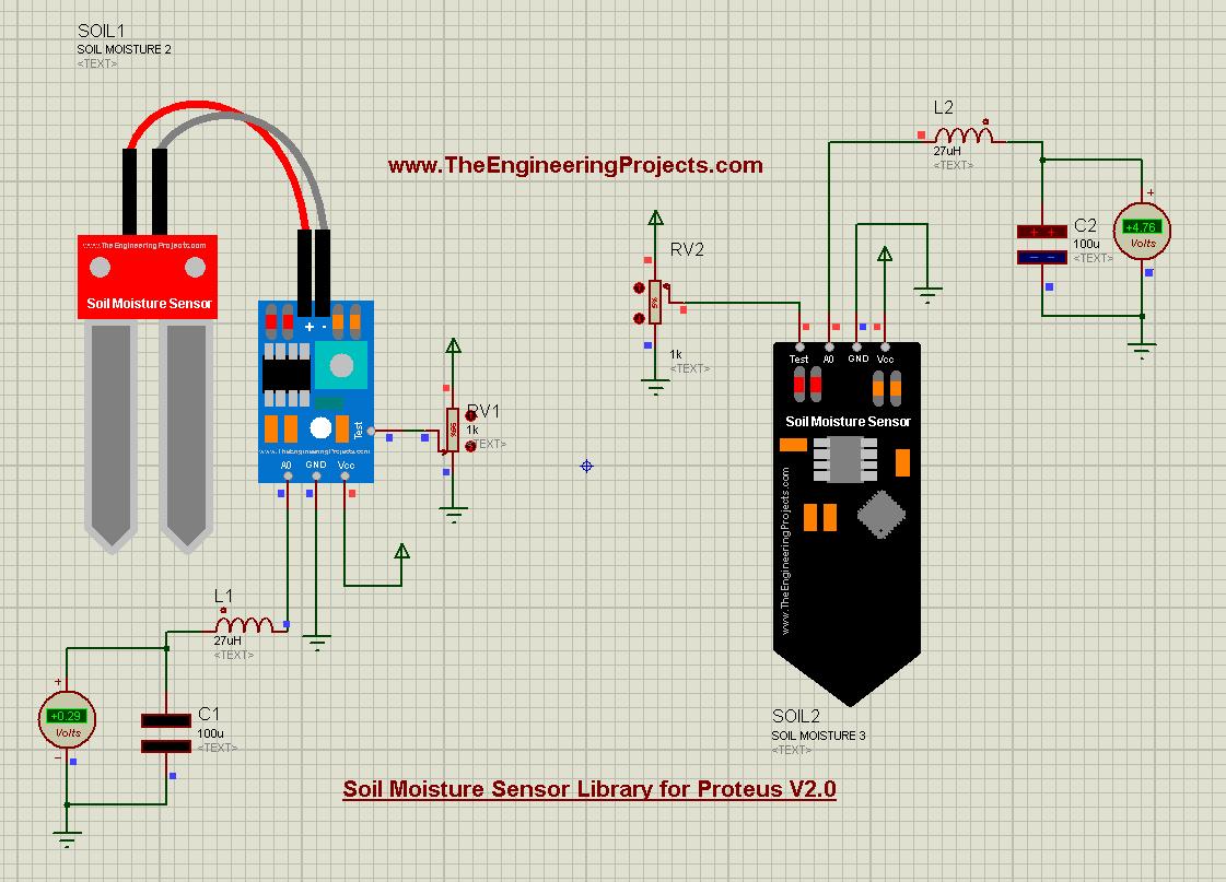 Soil Moisture Sensor Library for Proteus V2.0, Soil Moisture Sensor Library for Proteus, Soil Moisture Sensor Library in Proteus, Soil Moisture Sensor in Proteus, Soil Moisture Sensor Proteus simulation, Soil Moisture in Proteus