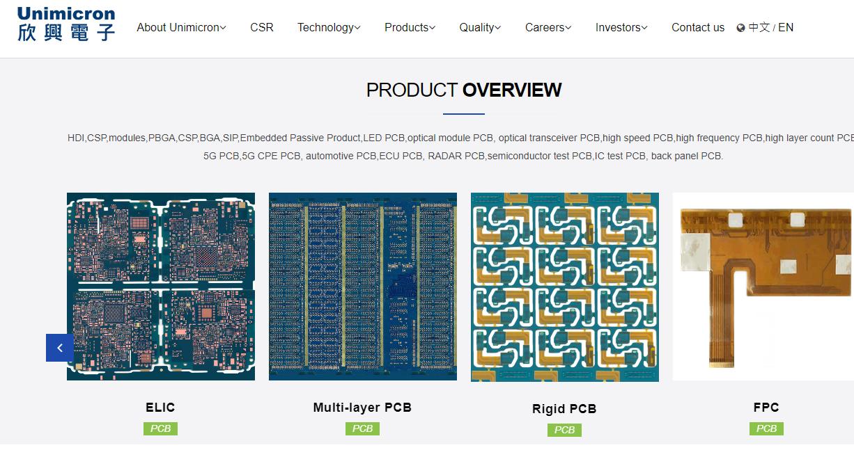 Top Printed Circuit Board Manufacturers Online, JLCPCB, PCBway, Atechcircuit, Unimicron, AllPCB, PCBCart, PCBgogo, Zhen Ding Tech